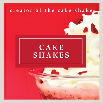 Cake Shakes - cupcake milkshakes at Cupcake DownSouth in Charleston SC and Columbia SC