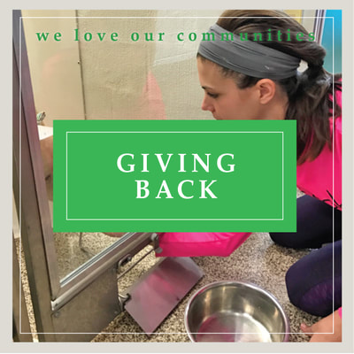 Donations - giving back to our communities at Cupcake DownSouth in Charleston SC and Columbia SC